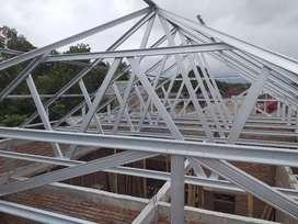 BAJA RINGAN dan atap galvalum dan genteng