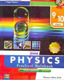 9th and 10th practical notebooks 1500 each