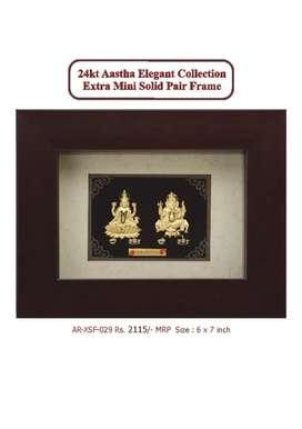 Aarya 24kt Gold Foil Frames.