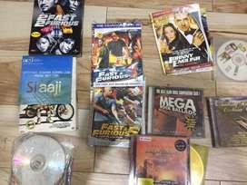 Kaset vcd dvd banyak jenis film 2 fast furrious dll