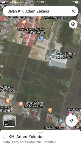 Tanah luas ditengah kota tanpa perantara