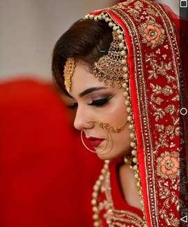 Makeup artist,Mehndi artist,Hairstylist cum Beautician