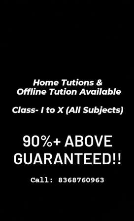 A1 Home tutions and offline classes