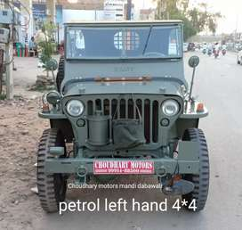 Willy's left hand hand Petrol 4*4 jeep