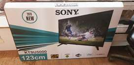 """Brand new sony 55"""" smart android led tv .1 year wrnty"""