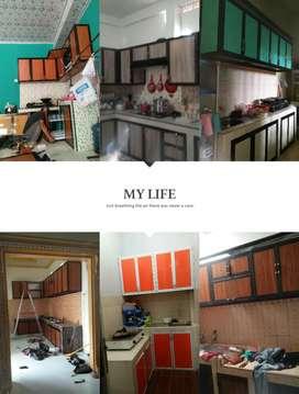 Kitchen set aluminium garansi