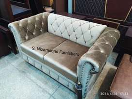 Chesterfield Sofa set 6 seater