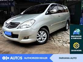[OLX Autos] Toyota Kijang Innova 2011 2.5 G A/T Silver #Farhana Auto