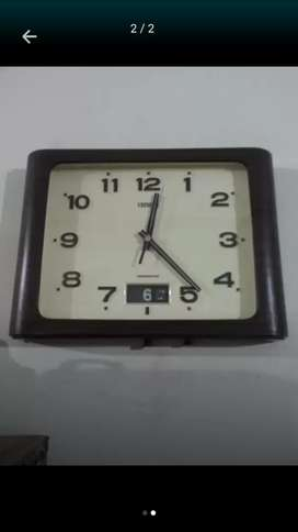 Antique citizen wall clock vintage
