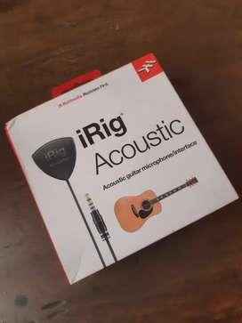iRig Acoustic Pickup Gitar Akustik