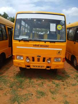 school bus mahindra 2010 model