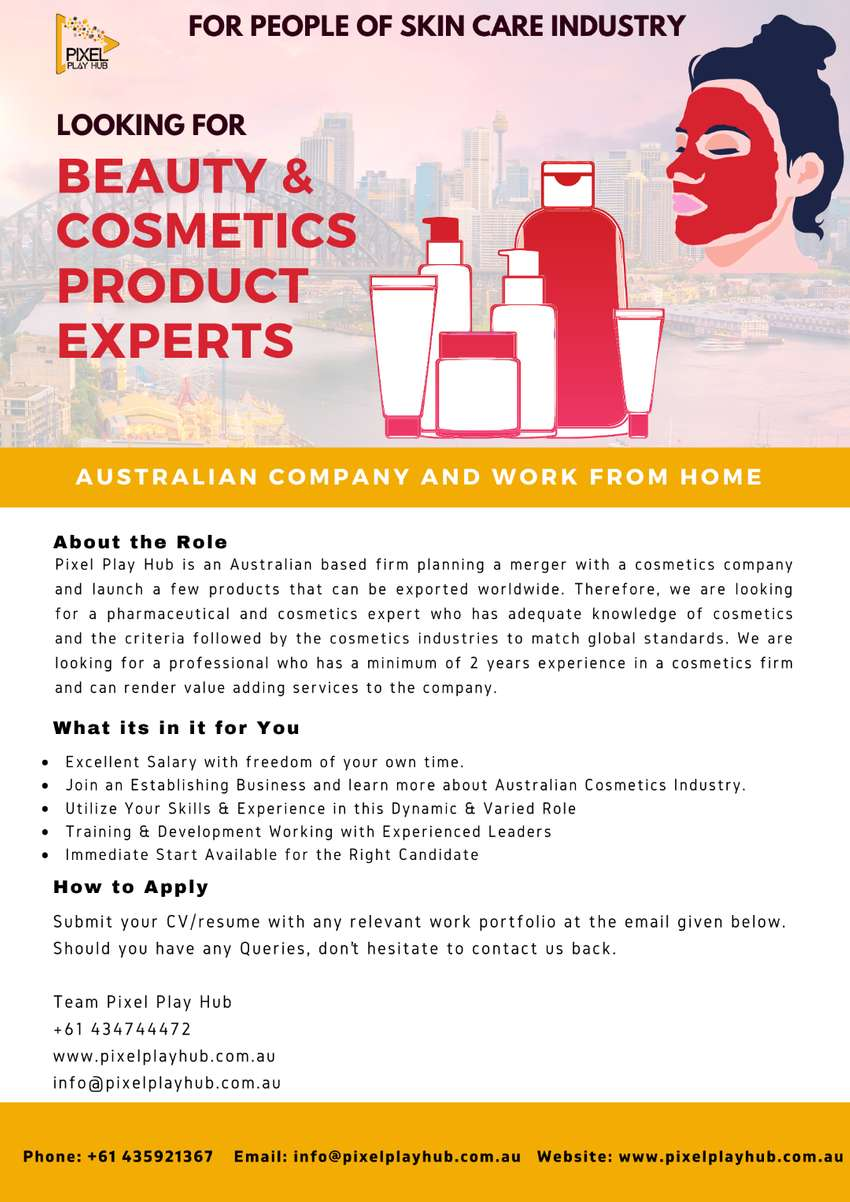 Beauty and Cosmetics Product Expert 0