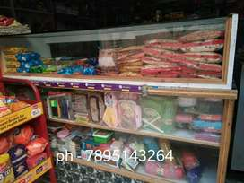 Counter and almirah for shop at sale ( Rakesh Arora)