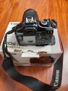 Jual kamera canon eos 1100d