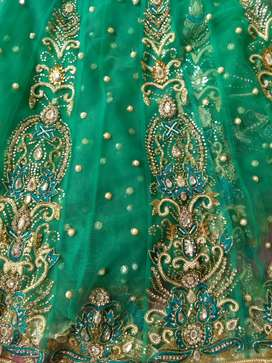 Stone worked sarees
