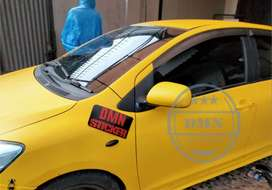Toyota Vios Full Wrapping Oracal Free Cutting Sticker Custome