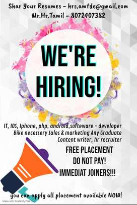 IT & Sales Job Fair - Recruiter, Developer, Software, Java, etc...