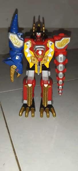 Megazord Robot Power Rangers Dino Thunder
