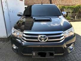 Toyota Hilux Type V Automatic Km 20rb 2016 SEPRTI BARU NEGO