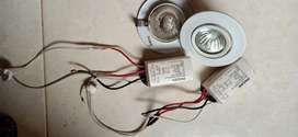 Downlight lampu sorot display 20w Philips halogen ballast 4bh copotan