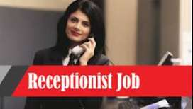 HR AND RECEPTIONIST