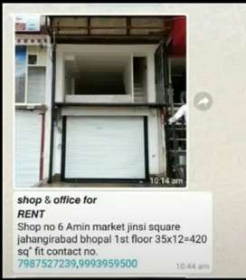 300 sqare ft . Shop for rent price - 15,000