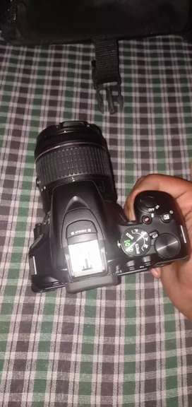 All kit good condition Nikon camera d5600