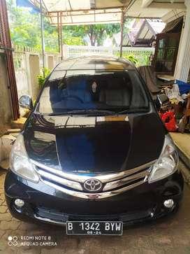 Toyota Avanza G Automatic 2014  Hitam Orisini Istimewa Pjk panjang