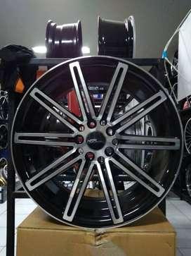 velg mobil ring 17 warna black polish untuk sinta dll,