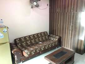 1 bed room full furnished flat availbale cavic center