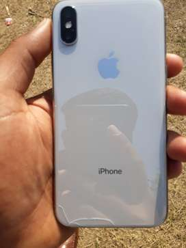 Iphone X 64 GB SILVER EXTENDED WARRANTY UPTO 24feb 2020