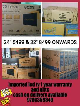 Imported sony led tv discount sales 1 year warranty and gifts