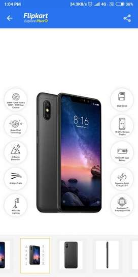 URGENT SELL Mi Note 6 Pro 4,64gb, 8Month old