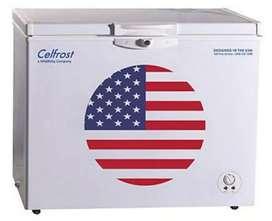 Sale for celfrost deep fridge 300 litre