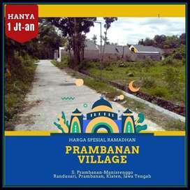 MURAH: Prambanan Village Selatan Exit Tol