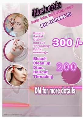 Blushworks beauty salon