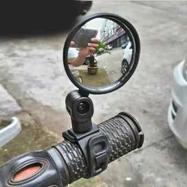Kaca spion sepeda cembung