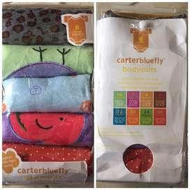 Baju bayi Carter babysuits size 6mo (new)