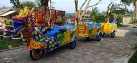 Jual MURAH Odong Kereta Motor Naga Thomas Gajah Usaha Keliling Berkah