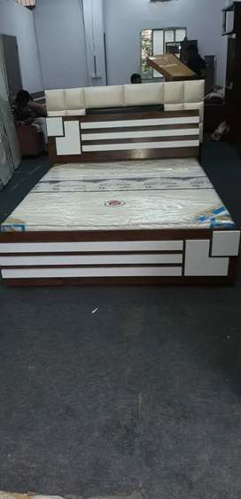 Queen size bed direct factory sell