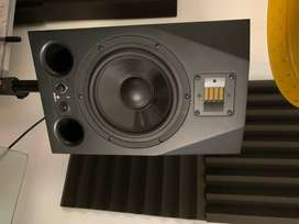 ADAM PROFESSIONAL AUDIO A8X STUDIO MONITORS/SPEAKERS WITH STANDS!