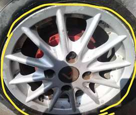 Tata indica mack wheel 13inch silver