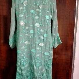 New untouched agha Noor self stitched chiffon suit