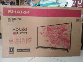 tv led 32 SHARP original hdmi & bisa COD