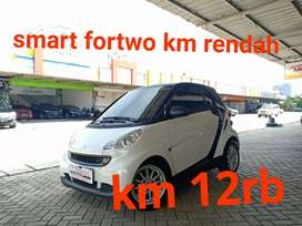Smart ForTwo coupe A/T 2012 nik 2011 White on Black Odometer 12rb