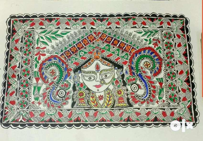 New Handmade mithila painting 0