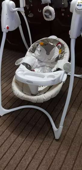Imported graco swing
