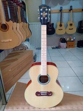 asli keren akustik gitar double run
