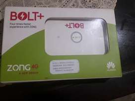 Zong 4G BOLT PLUS unlock for All networks