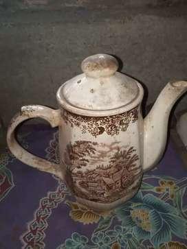 teko antik hand painting